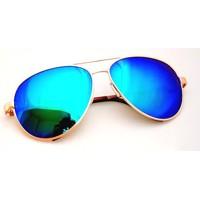 Štýlové Slnečné Okuliare Aviator Pilotky - Modre 0bc57bf72b7