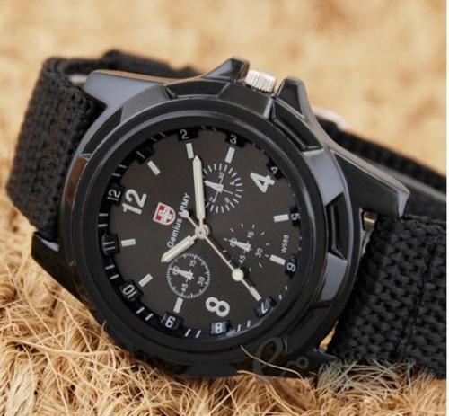 Gemius Swiss Army - módne pánske hodinky čierne - Selmars - Móda a doplňky  pre ženy