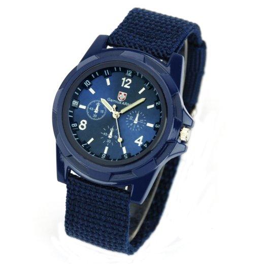 Gemius Swiss Army - módne pánske hodinky modre - Selmars - Móda a doplňky  pre ženy