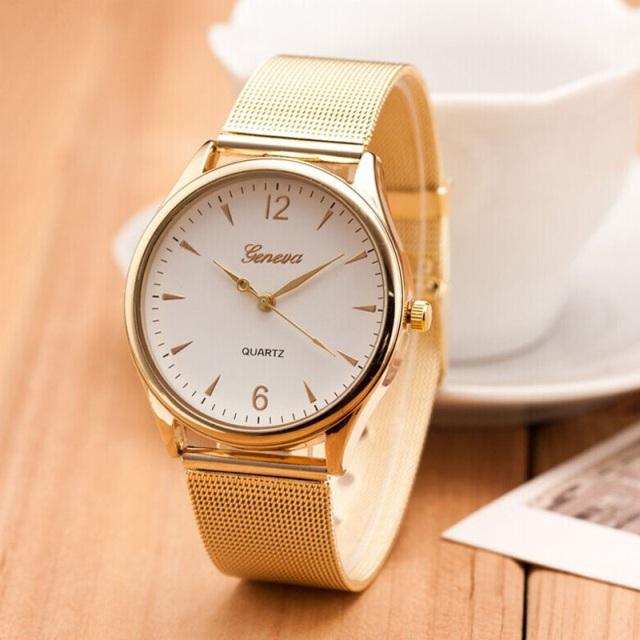 Luxusné dámske hodinky Geneva za štýlovú cenu (ZBT) - Selmars - Móda ... 4f4a0a55132