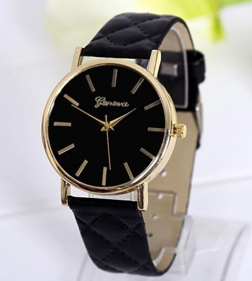 c8a003136 Luxusné dámske hodinky Geneva Platinum Vogue Black - Selmars - Móda ...