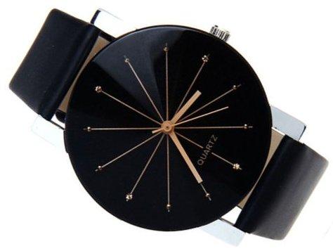 Luxusné dámske hodinky Quartz Black - Novinka - Selmars - Móda a ... 2997b088de3