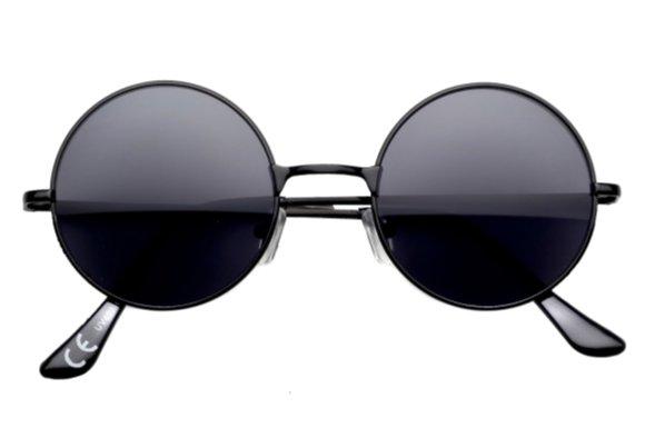 1a3757d9b Slnečné Retro Okuliare Lenonky Premium - čierne - Selmars - Móda a ...