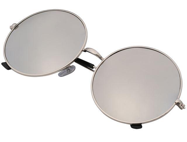 Slnečné Retro Okuliare Lenonky Premium - strieborne - Selmars - Móda ... ebdbe6df2c0