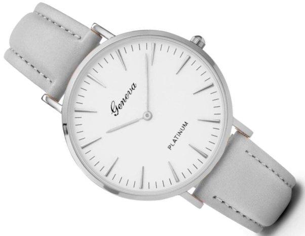 Luxusné dámske hodinky Geneva Platinum - šede - Selmars - Móda a ... 602ca1e3f98