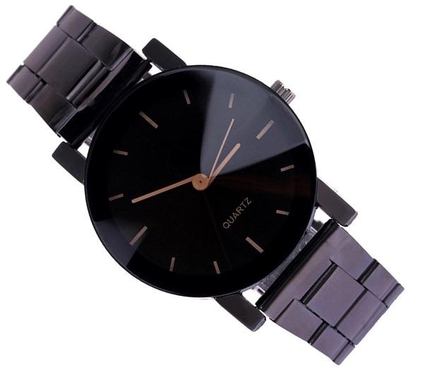 Luxusné dámske kovove hodinky Quartz Black - Selmars - Móda a ... 7cee315cdb2