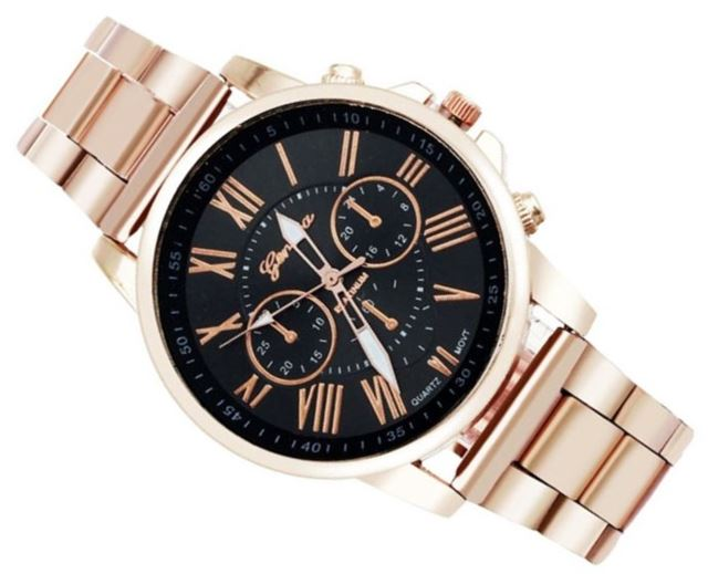 Luxusní dámské hodinky Geneva Ružove Zlato (RCZT) - Selmars - Móda a ... 6af7ca02ea6