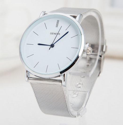 Luxusné dámske hodinky Geneva Strieborne (ZBTNW) - Selmars - Móda a ... 4606fe96be8
