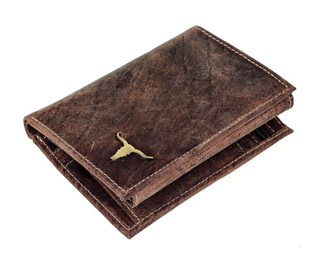 3304b21c3d Elegantná Panská Kožená Peňaženka Vintage Buffalo hneda RM04BAW ...