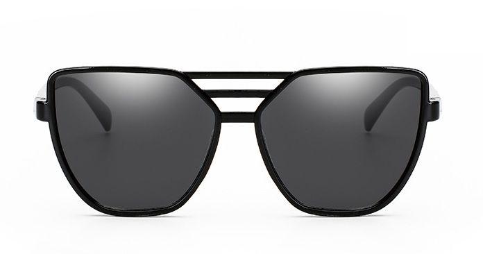 Trendy Dámske Slnečné Okuliare pilotky Aviator - Čierna (OK142 ... 123898e32b1