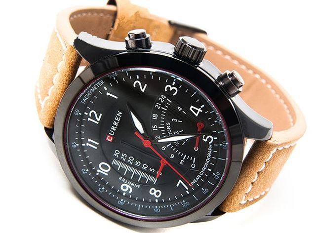 030e9e0e4 Curren Tachymeter - modne panske kožene hodinky - Selmars - Móda a ...