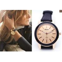 853bcf6af378 Luxusné dámske hodinky Geneva Platinum - čierna