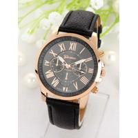 455a28730f68 Luxusné dámske hodinky Geneva Platinum Rome Black