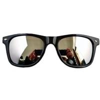 Štýlové Slnečné zrkadlové okuliare Wayfarer Blue Brothers - Selmars ... 5cfc6535377