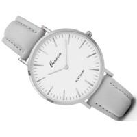 Luxusné dámske hodinky Geneva Platinum - šede 0916db8554e