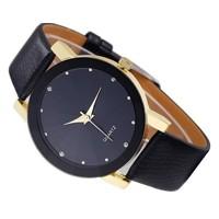 1df72e69b NOVINKANÁŠ TIP; Luxusné dámske hodinky Quartz Black s Zirkony