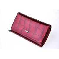 94d18c7aeb ... Elegantná Kožená Peňaženka Loren červena 57-006CB