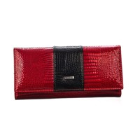 6f7e980484 ... Elegantná Kožená Peňaženka Loren červena 72032