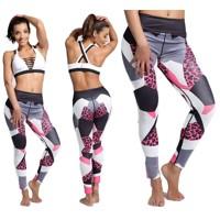 Kvalitné Športové Legíny Fitness - Pink Panther 4518318a43